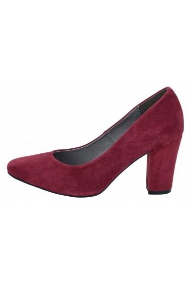 Pantofi cu toc Andrea Conti 078973 bordo - els