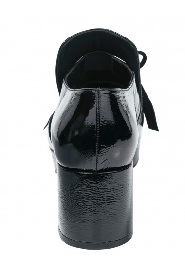 Pantofi cu toc ZINDA 044311 negru