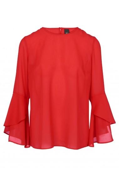 Bluza heine CASUAL 53347435 rosu - els