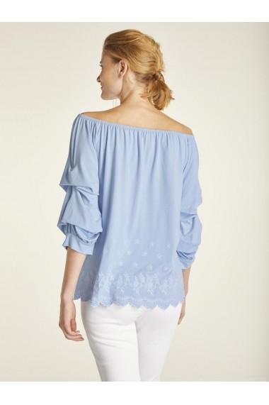 Bluza heine CASUAL 18370645 bleu