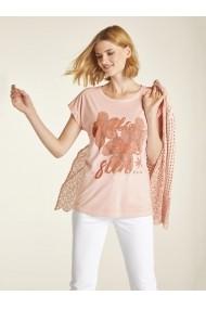 Tricou heine CASUAL 19511833 roz - els