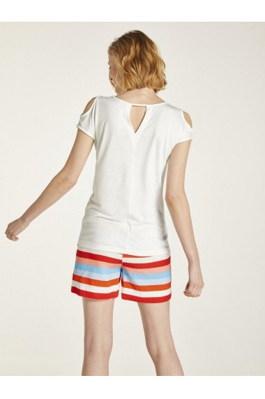 Tricou heine CASUAL 30521361 alb