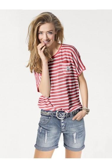 Tricou heine CASUAL 035806 rosu