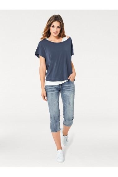 Set tricou si top heine CASUAL 42218046 albastru