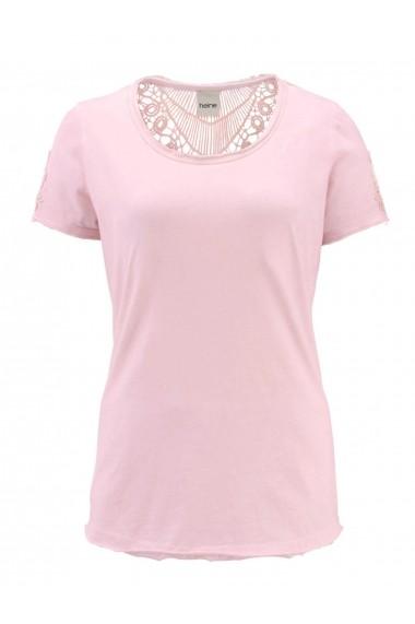 Tricou heine CASUAL 55118818 roz