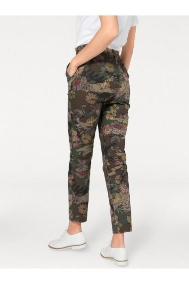 Pantaloni drepti heine CASUAL 95183309 multicolor - els
