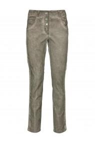 Pantaloni drepti heine CASUAL 41239301 verde