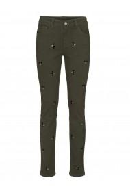 Pantaloni drepti heine CASUAL 67009117 verde - els