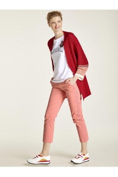 Pantaloni drepti heine CASUAL 26604120 roz