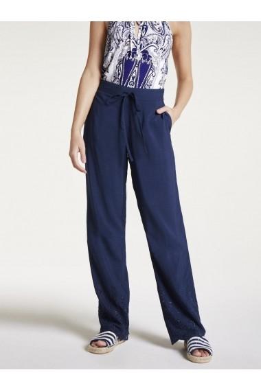 Pantaloni drepti heine CASUAL 59360815 albastru - els
