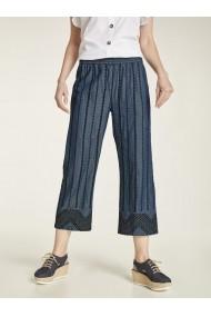 Pantaloni drepti heine CASUAL 82623836 albastru - els