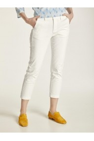 Pantaloni drepti heine CASUAL 83926430 alb