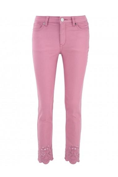 Pantaloni drepti heine CASUAL 25980700 roz