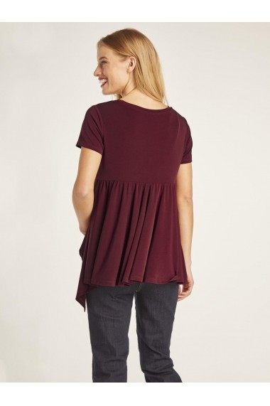 Tricou heine TIMELESS 20381510 bordo
