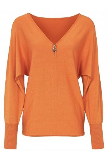 Pulover heine TIMELESS 51736242 portocaliu - els