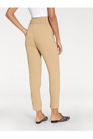 Pantaloni drepti heine TIMELESS 003231 maro