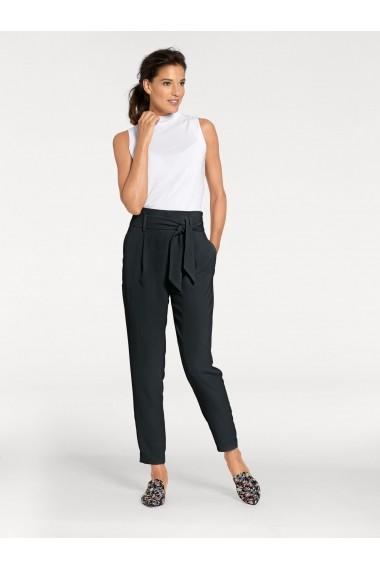 Pantaloni drepti heine TIMELESS 003275 negru