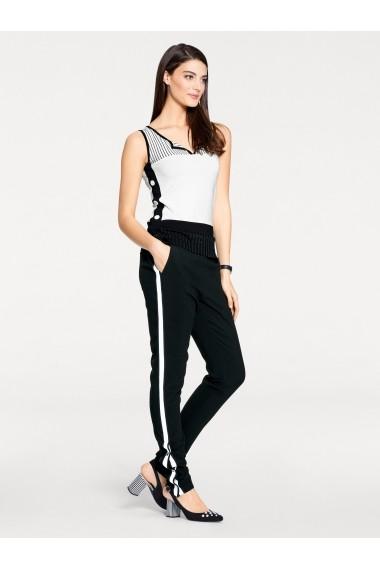 Pantaloni drepti heine TIMELESS 062781 negru
