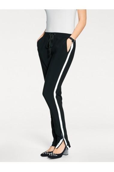 Pantaloni drepti heine TIMELESS 009473 negru