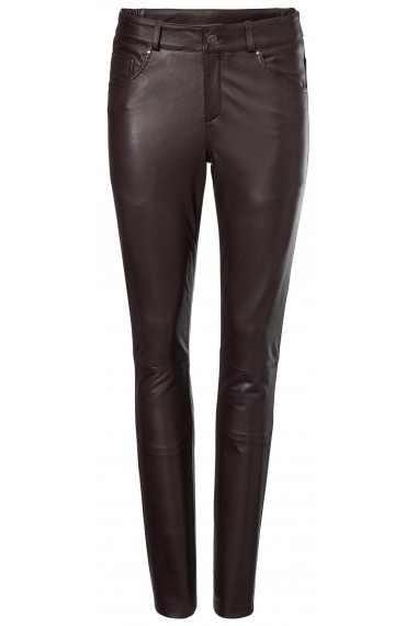 Pantaloni drepti heine TIMELESS 132919 maro