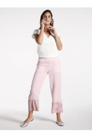 Pantaloni drepti heine TIMELESS 41949402 roz