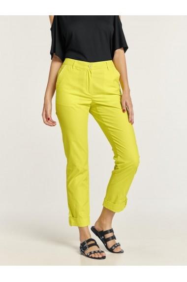 Pantaloni largi heine TIMELESS 41910240 galben