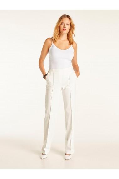 Pantaloni drepti heine TIMELESS 65546947 alb - els