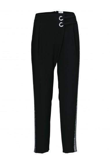 Pantaloni drepti heine STYLE 65235725 negru - els