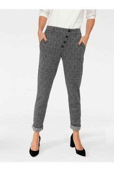 Pantaloni drepti heine STYLE 002654 negru