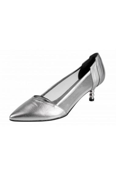 Pantofi cu toc Heine 15534450 argintiu - els