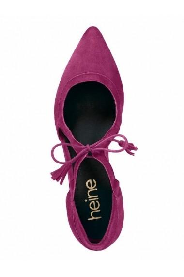 Pantofi cu toc Heine 080461 roz