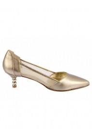 Pantofi cu toc cu toc Heine 86672833 auriu