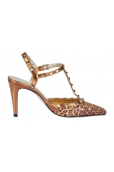 Pantofi cu toc Heine 41814836 maro