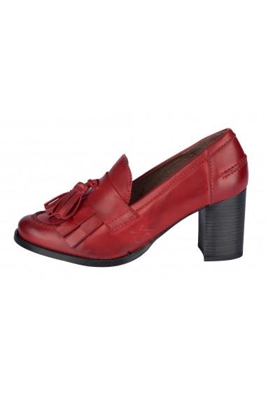 Pantofi cu toc cu toc Heine 61594635 rosu