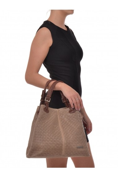 Geanta Shopper Isabella Rhea SS19 IR 858 Bej
