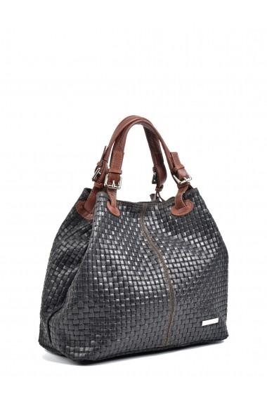 Geanta Shopper Isabella Rhea SS19 IR 858 Negru