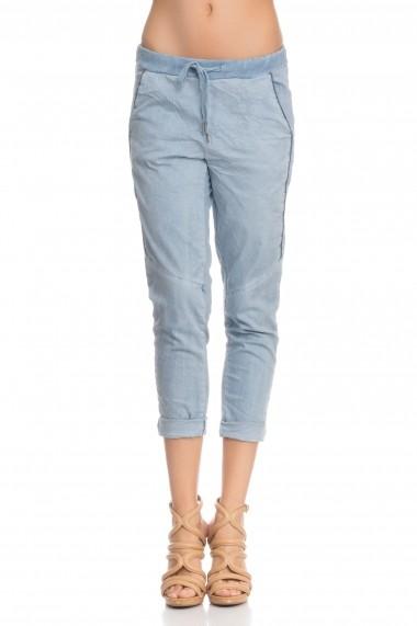 Pantaloni drepti Tantra TAN-PANT3515 Blue Albastru - els