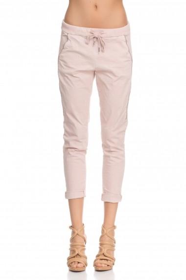 Pantaloni drepti Tantra TAN-PANT3515 Pink Roz - els