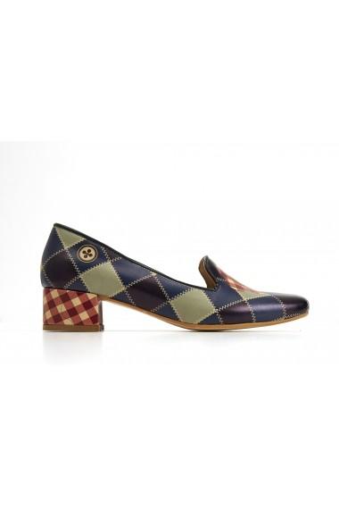 Pantofi GOBY DB111 multicolor - els