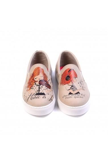 Pantofi GOBY VN4023 multicolor