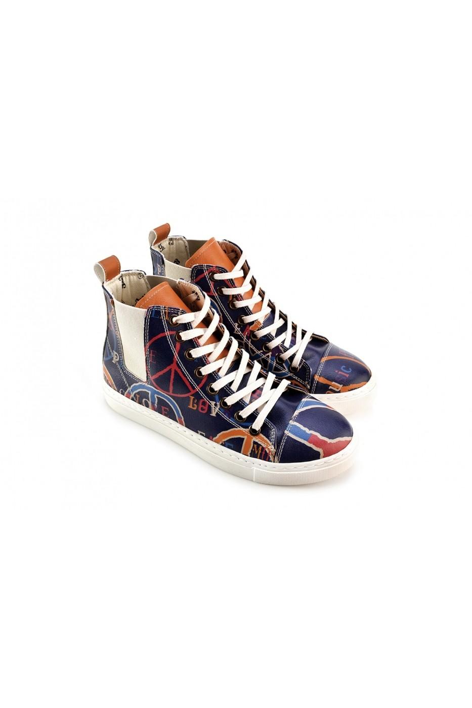 Goby Sneaker cipő FHP-CON112 els Színes - FashionUP! eadba1cdb9