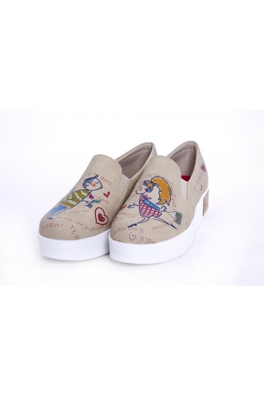 Pantofi GOBY VN4203 multicolor
