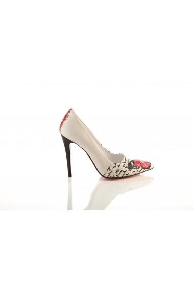 Pantofi cu toc GOBY STL4009 multicolor