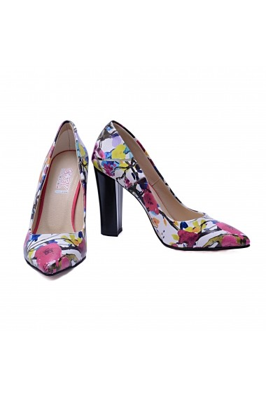 Pantofi cu toc GOBY STL4501 multicolor - els