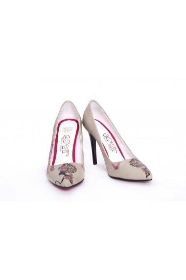 Set pantofi si geanta GOBY TK5004 multicolor
