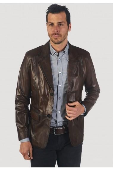 Jacheta din piele Giorgio di Mare GI2745382 Maro