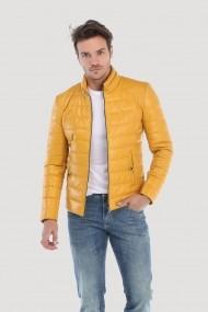 Jacheta din piele Giorgio Di Mare GI4388150 Galben