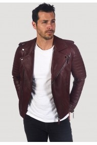 Jacheta din piele Giorgio Di Mare GI3706137 Bordo