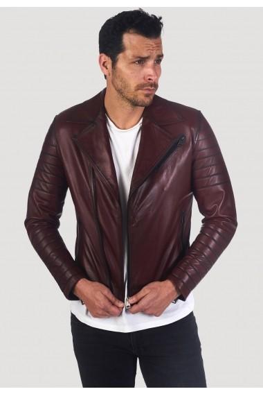 Jacheta din piele Giorgio Di Mare GI2191090 Bordo