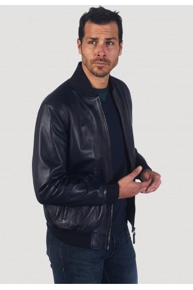 Jacheta din piele Giorgio Di Mare GI4061447 Bleumarin